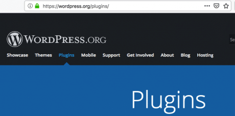 Wordpress plugins official directory