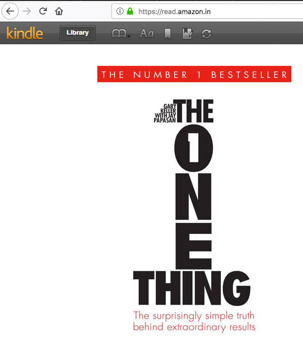 the-one-thing-book-kindle